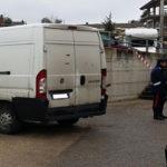 furgone rom ruba bambini