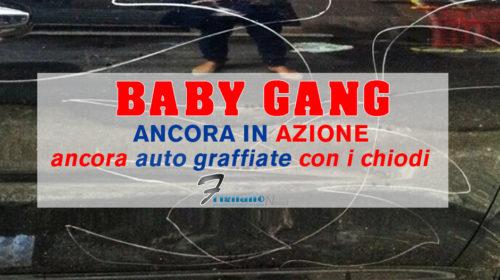 Frignano: Baby gang ancora in azione, sempre più auto graffiate con chiodi.